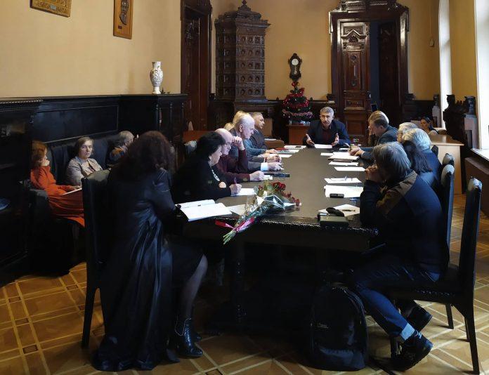 Засідання Секретаріату НСПУ