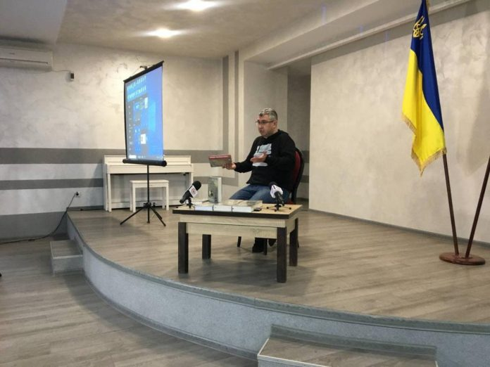 Вахтанг Кіпіані презентував у Покровську книгу про Василя Стуса