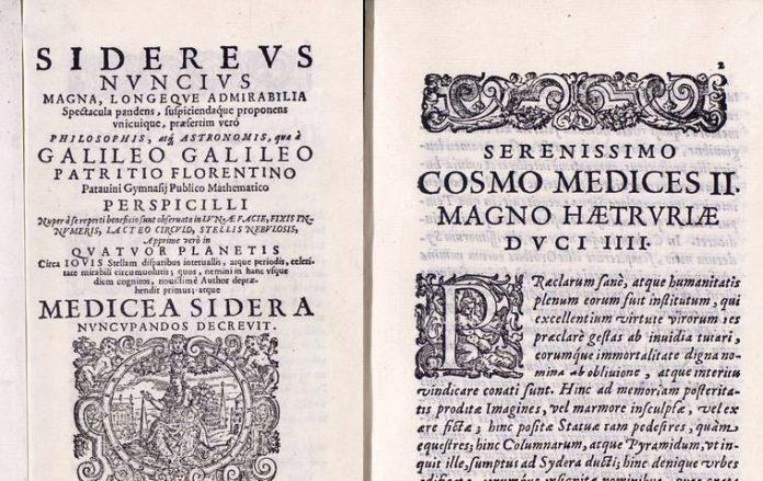 В іспанській бібліотеці чотири роки приховували викрадення рукопису Галілея 1610 року,…