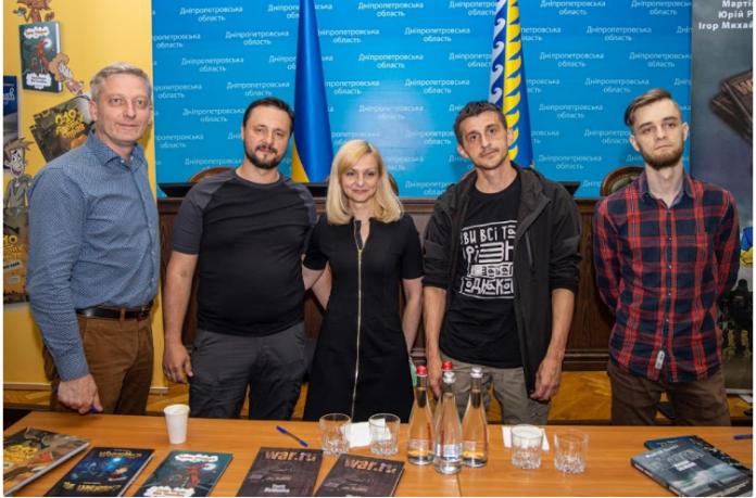 Чотири українські письменники презентували власні новинки у Дніпропетровській ОДА