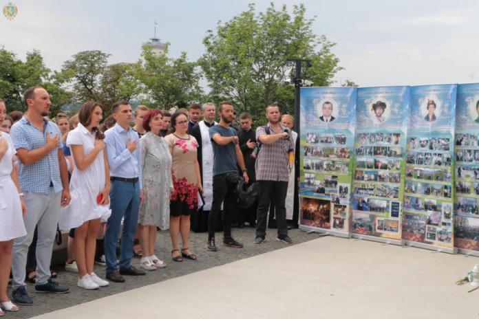 У Львові вшанували пам'ять Героїв Небесної Сотні