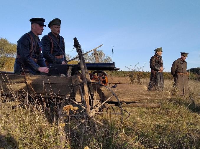 На Рогатинщині відбулись зйомки художнього фільму